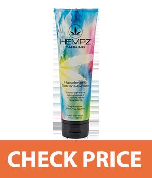 Hempz Dark Tan Maximizer, Hypoallergenic, 9 Ounce