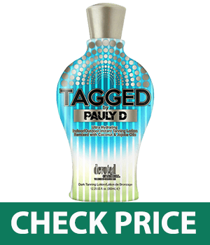 Tagged Tanning Lotion By Pauly D