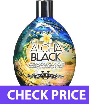 Tan Asz U ALOHA BLACK Advanced 200X Black Bronzer - 13.5 oz