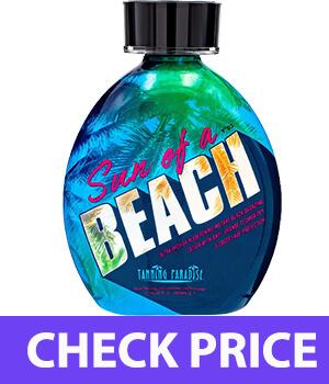 Tanning Paradise Sun of a Beach Instant Black Bronzing   Vitamin Rich Tanning Lotion 13.5oz